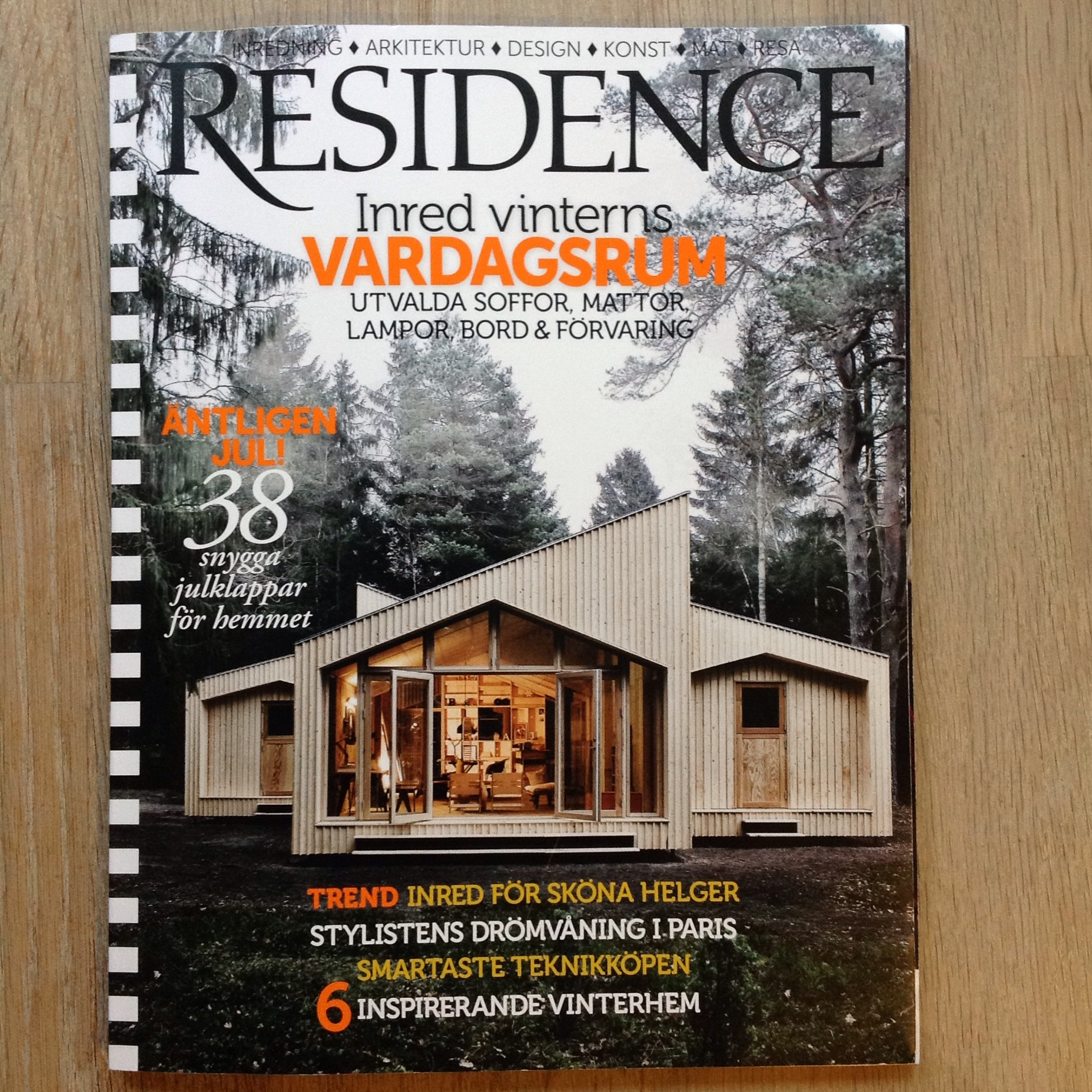 Residence_Frontpage