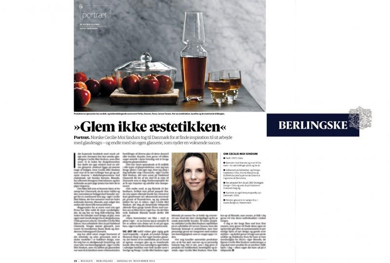 Berlingske Interview